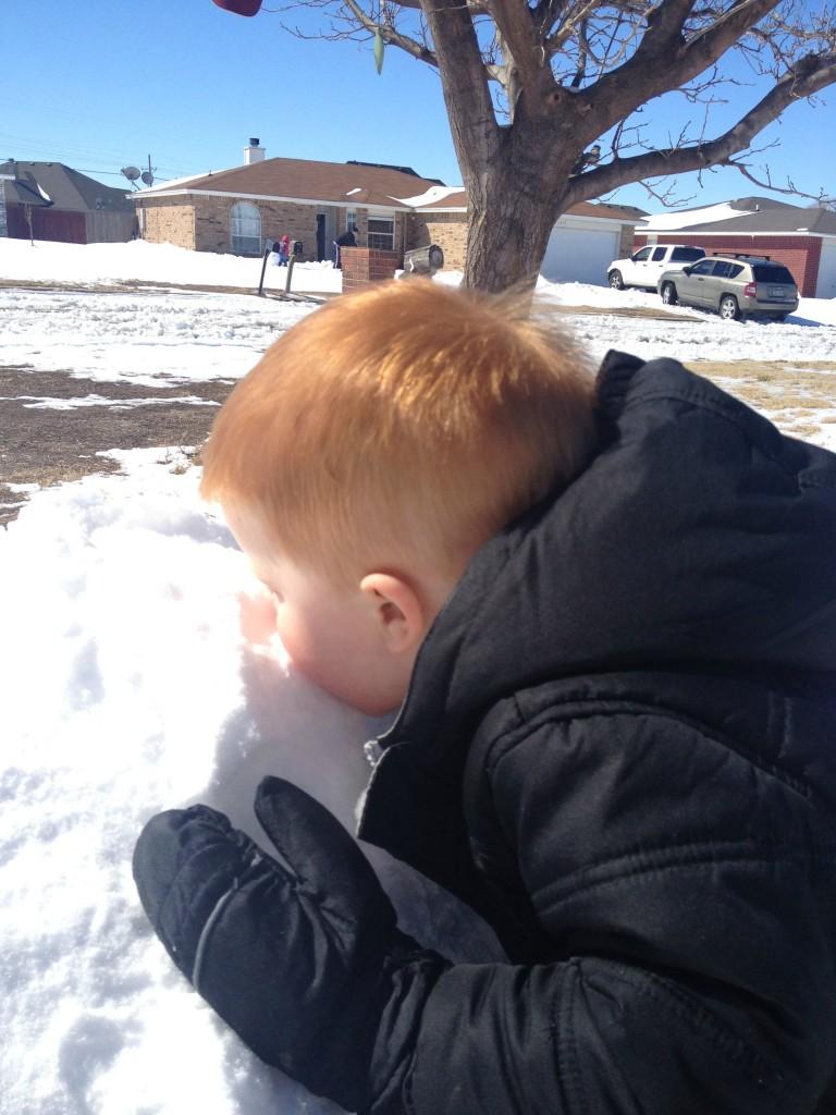 slurp snow