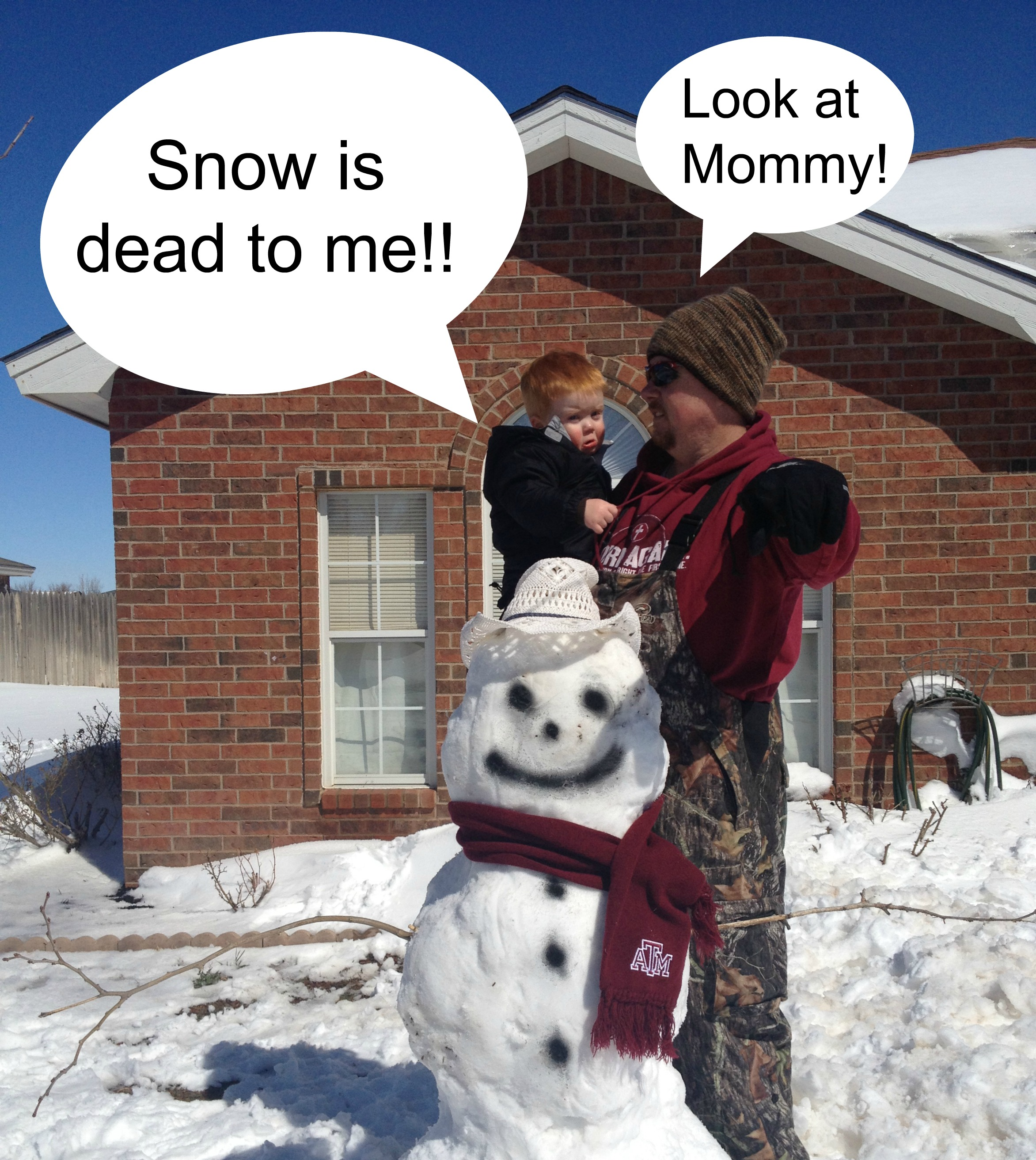 Share your Life} I love snow. I hate snow. I love snow ...