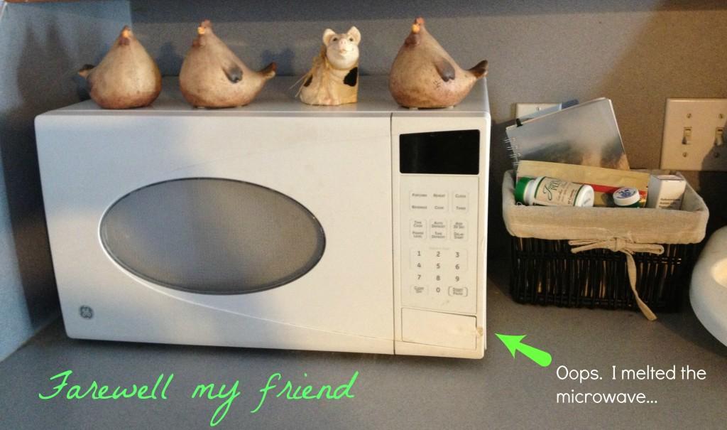 farewell microwave