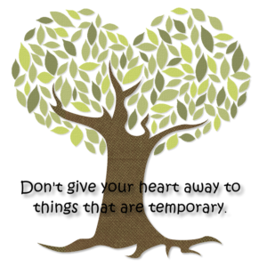 dont give your heart away
