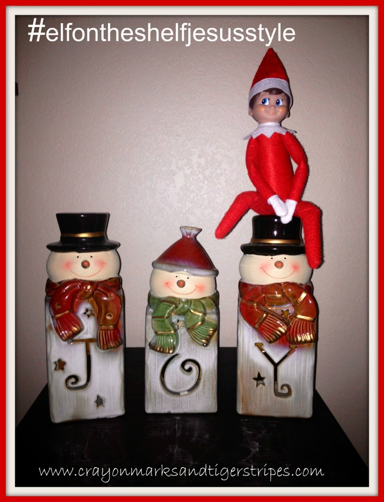 elf joy snowmen