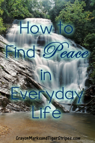 Life can so hectic that we lose our sense of peace.  How can we find peace in everyday life? No matter your situation, God wants you to find his peace.