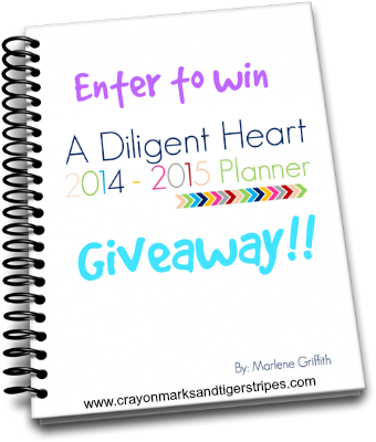 2014-2015 Planner Giveaway