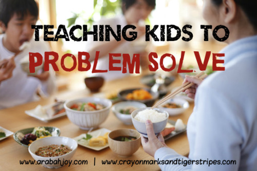 Teaching Children to Problem Solve