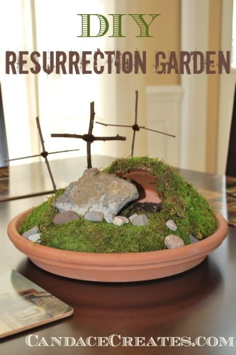 DIY Resurrection Garden Easter Tradition